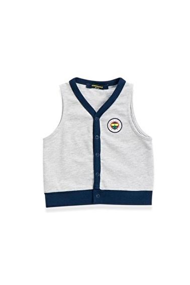 Fenerbahçe Fenerbahçe Lisanslı Unisex Yelek Grimelanj Gri